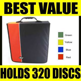 CD Holder DVD Case Storage Wallet Disc Organizer Book Media DJ Bag