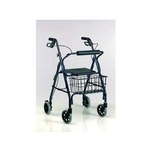Drive Medical Go Lite Aluminum Rollator 4 Wheel with Loop