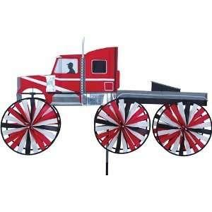 Vehicle Wind Spinner   Big Rig Truck Patio, Lawn & Garden
