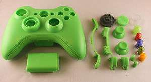 Lime Green Xbox 360 Replacement Custom Controller Shell Parts