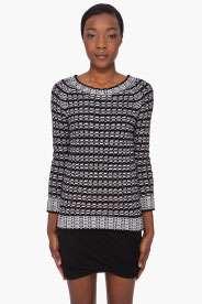 Black & White Bivi Sweater
