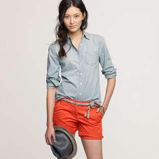 Faded chambray shirt   casual shirts   Womens shirts & tops   J.Crew