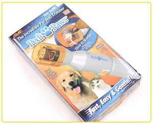 Pet Dog Cat Nail Trimmer Clipper As Seen On TV
