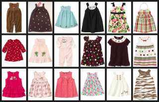 NWT Gymboree Baby & Toddler Girl DRESS ONE PIECE Choices #2