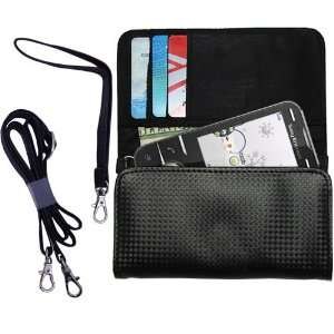 Black Purse Hand Bag Case for the Sony Ericsson Kita with