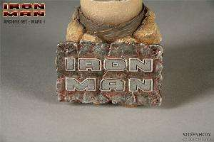 Iron Man Marvel Sideshow Mark 1 Helmet 1:4 Scale