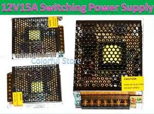 12V 15A DC Universal Regulated Switching Power Supply