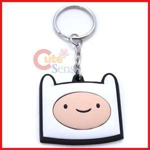 Adventure Time Finn & Jake Rubber Key Chain  Finn Face