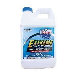 Lucas 10021 Extreme Cold Weather Diesel Fuel Treatment