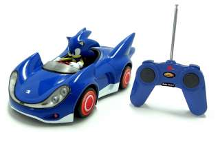 Racing Remote Control Car SONIC NEW The Hedgehog Toy