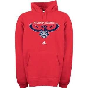 Atlanta Hawks Full Primary Logo Hooded Fleece Sweatshirt