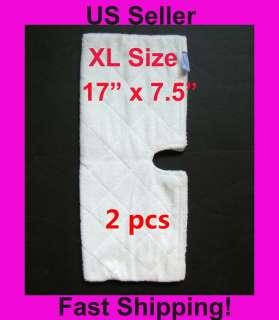 Replacement XL Pads for Shark Steam Pocket Mop S3501