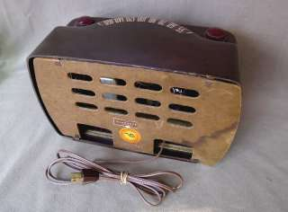 Philco 48 460 Bakelite Antique Tube Radio 1948 Classic Recently