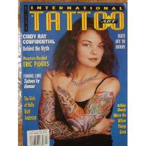 International Tattoo Art Magazine Cindy Ray (March, 2003