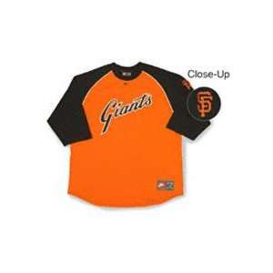 San Francisco Giants Orange Nike Cooperstown Three Quarter
