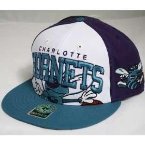 Charlotte Hornets NBA 47 Brand Vintage Purple Triple Block
