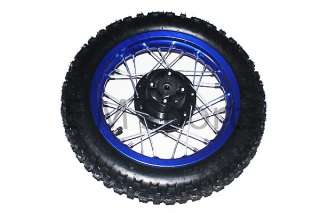 12 China Dirt Pit Bike Rear Wheel Combo Assembly Parts 110cc 125cc