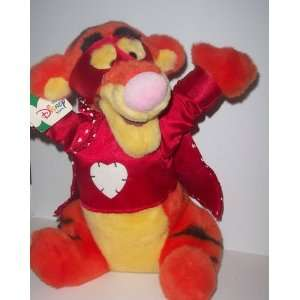 Valentines Day Big Hugs Tigger 13 Inch Plush By Disney