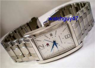 TOMMY HILFIGER by MOVADO Mens STAINLESS STEEL BRACELET Watch NEW IN