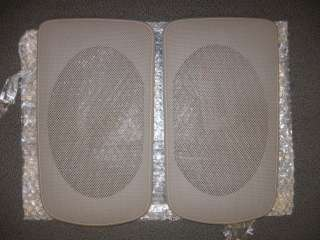 2002   2006 Camry rear speaker grille covers BEIGE new