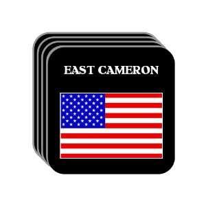 US Flag   East Cameron, Texas (TX) Set of 4 Mini Mousepad