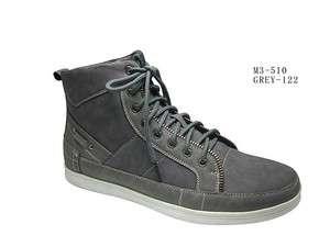 Mens Gray High Top Boots Mens gray high top sneaker boot by D.ALDO SZ8