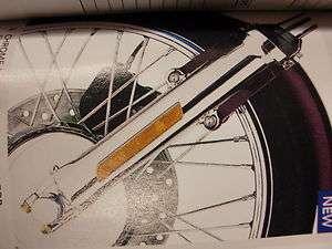 Harley Davidson Chrome Front End Pkg FLSTC 46334 07 NEW