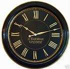 Large Wall Clock 36 Antique Style Red Big Gold Tuscan