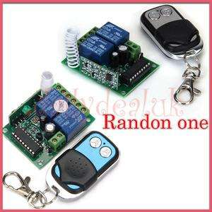 Channel RF Wireless Transmitter Remote Control 315MHz