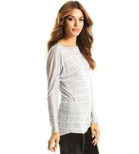 Authentic NWT Armani Exchange AX Women Dolman Top Long Sleeve Tee T