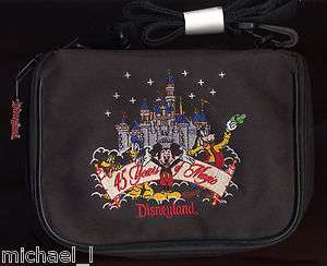 DISNEYLAND CASTLE 45 YEARS OF MAGIC SMALL PIN BAG ** NEW **
