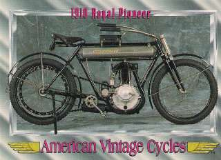 1910 Royal Pioneer Motorcycle Engine 30.5 cu. in. Single Cylinder