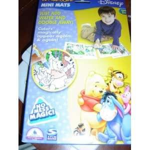 Aquadoodle Mini Mats Disney Winnie the Pooh & Friends Toys & Games