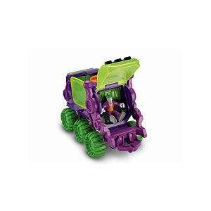 Imaginext DC Super Friends The Joker Hauler Toys & Games