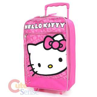 Sanrio Hello Kitty Hand Carry Luggage Roller Bag Pink 2