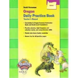 Oregon Daily Practice Book   Teachers Manual Books