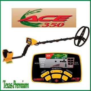 Garrett Ace 350 Metal Detector w/ Free Garrett Extras