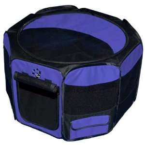 Travel Lite Soft Sided Pet Pen with Removable Top Lavender