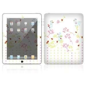 Apple iPad Decal Vinyl Sticker Skin   Spring Time