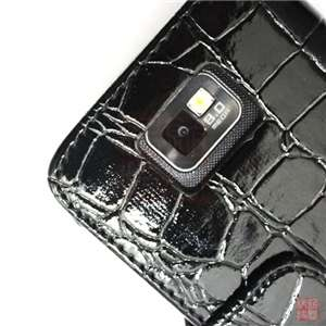 Folio Wallet Leather Case Cover For Samsung Galaxy S2 II i9100