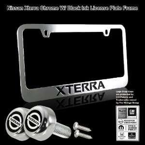 High Quality Chrome Plating Cast Zinc License Plate Frame Automotive