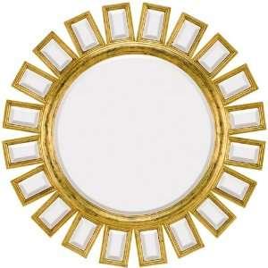 1428 B Antique Gold Mirror
