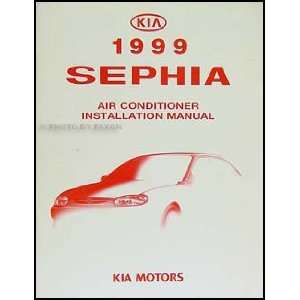 1999 Kia Sephia A/C Installation Manual Original Kia Books