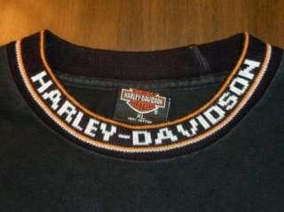 HARLEY DAVIDSON T Shirt VICTORVILE CA Vintage BLACK Motorcycle BIKER