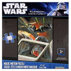 Star Wars X wing Death Star Attack Puzzle Toys & Games