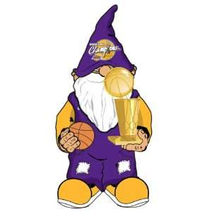 Los Angeles Lakers 2009 NBA Champions Garden Gnome  Sports