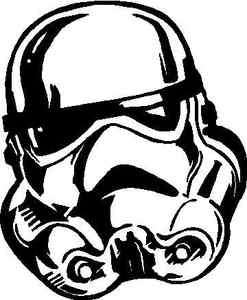Stormtrooper Star Wars Vinyl Decal /Sticker