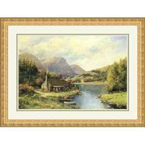 The Secluded Cabin by Alexander Sheridan   Framed
