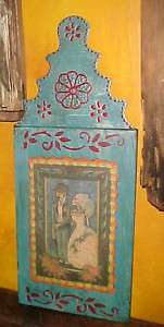 Day of the Dead Mexican Folk Art Novios Metal Panel #2