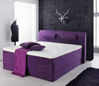 LANI BOXSPRINGBETT HOTELBETT amerikanisches Bett 4250181435955